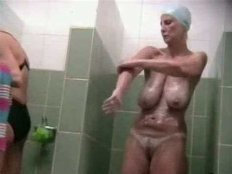spy cam video from shower room mature bitch with saggy tits