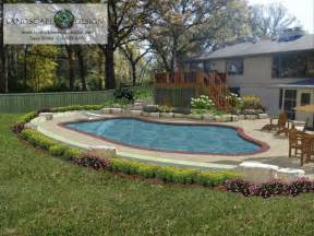 Above Ground Pool Landscaping Plants
