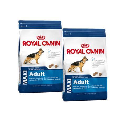 maxi cuisine royal canin maxi 5 food 2 x 15kg feedem