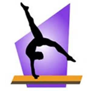 Girls Gymnastics Clip Art