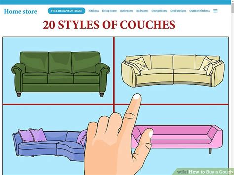 how to buy a sofa how to buy a couch 11 steps with pictures wikihow