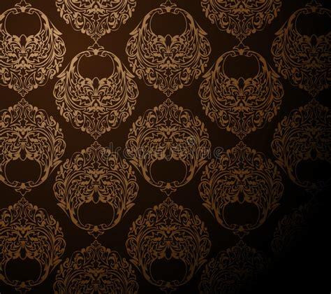 bruin behang stock illustratie illustratie bestaande uit