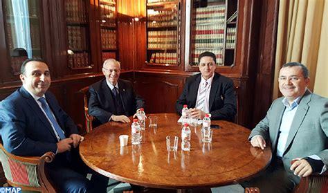 chambre de commerce barcelone barcelone participation marocaine à la réunion du