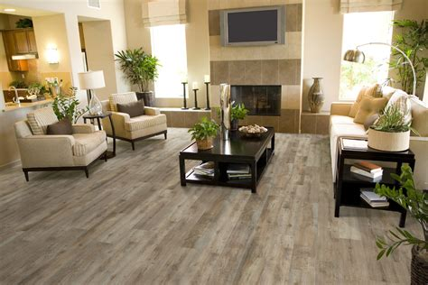 Wood Vinyl Flooring In Living Room  Gurus Floor