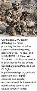 Our Nations MWD Teams Defending Our Nation Protecting the ...