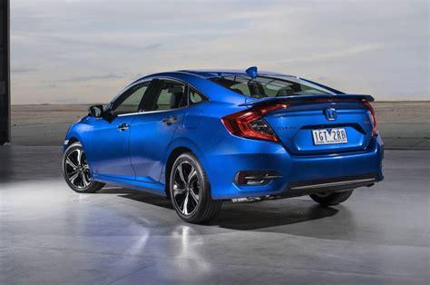 Honda Civic Sedan by 2016 Honda Civic Sedan Priced From Au 22 390 Debuts 1 5