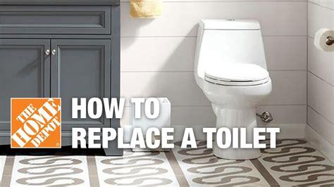 How To Replace Or Install A Toilet  The Home Depot Youtube