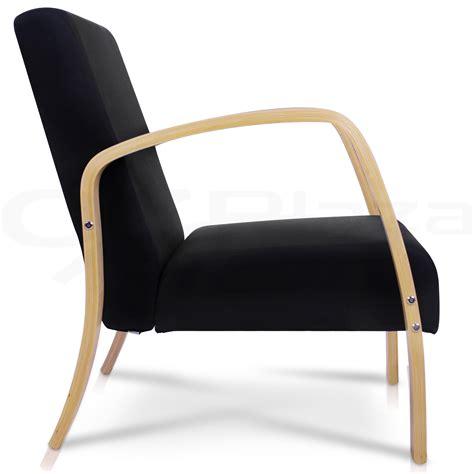 bentwood arm chair sponge cushion fabric sofa wooden