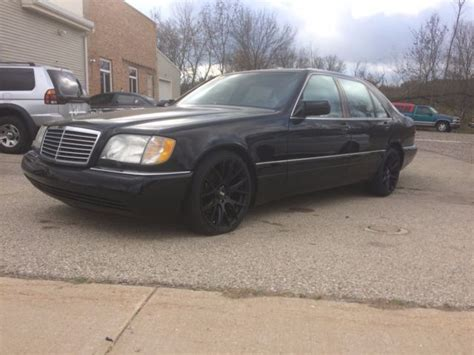 But i know been a. 1995 Mercedes-Benz S600 V12 LWB V140 W140 No Reserve for ...