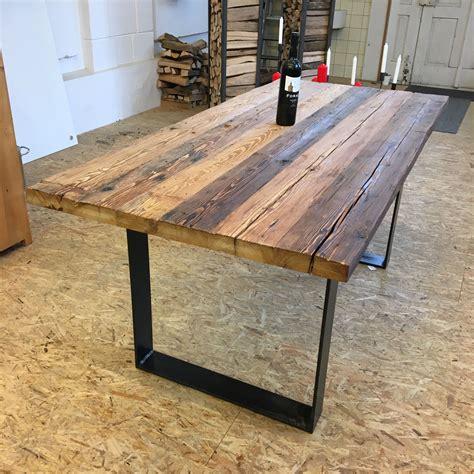 tisch aus altholz 171 tavolo 187 der tisch aus altholz und stahl aus der produktewerkstatt ruedi humbel