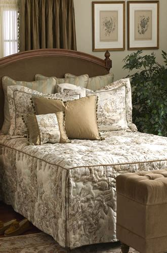 calico corners custom  bedspread retro renovation