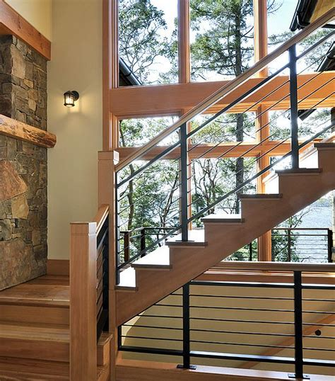 home interior railings choosing the stair railing design style interior design ideas