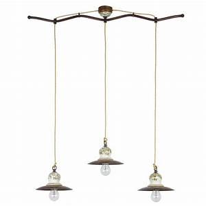 Rustikale Lampen Landhausstil : dreiflammige rustikale pendelleuchte im landhausstil von signa g nstig kaufen bei lampen ~ Sanjose-hotels-ca.com Haus und Dekorationen