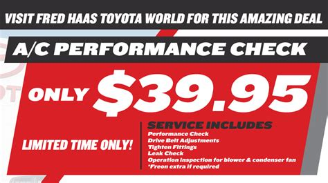 Fred Toyota Service by Auto Service Center Tx Fred Haas Toyota World
