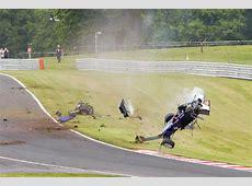 British F3 driver unscathed after huge crash Speedcafe