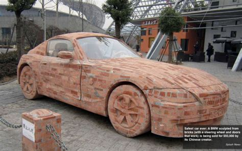 a brick mercedes worth over 90 000 made by dai yun