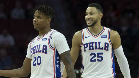 Fultz looks set for a breakout year in the 76ers backcourt ...