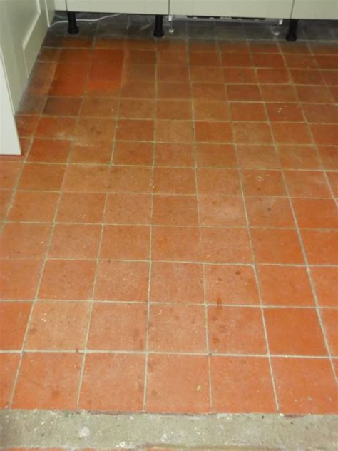 quarry tile floor quarry tile flooring in friston suffolk tile doctor