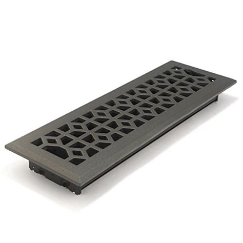 Cast Iron Floor Register 4 X 14 by Accord Amfrpwm414 Floor Register With Marquis Design 4
