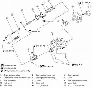 2004 Chevy Cavalier Steering Column Diagram