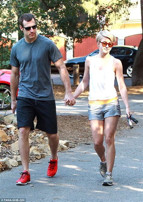 Julianne Hough holds hands with Canadian hockey hunk