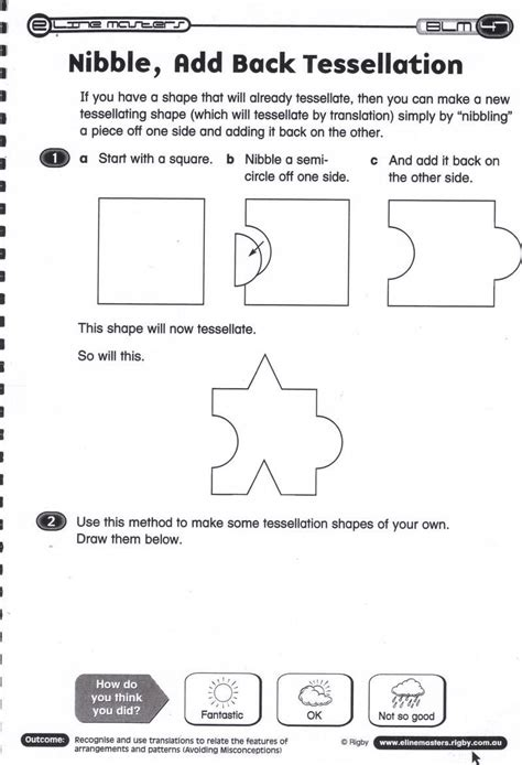 tessellation 2nd grade search worksheets elementary math