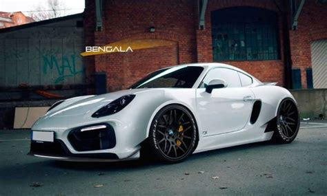 Rendering Bengala Porsche Cayman Wide Body