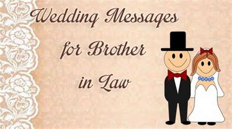 Wedding Messages For Brother In Law