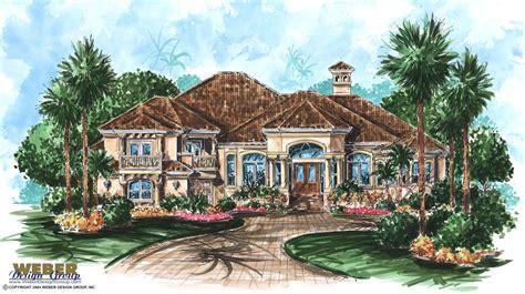 Mediterranean House Plans: Luxury Mediterranean Home Floor