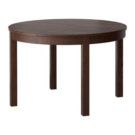bjursta extendable dining table bjursta extendable table brown ikea