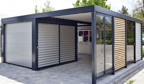 Carport An Garage by Carport Garage Kombination Holz Carport Vs Garage