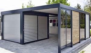 Garage Mit Carport : carport garage kombination holz carport vs garage carports image carport to garage conversion ~ Orissabook.com Haus und Dekorationen