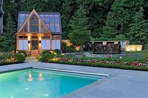 Black Kitchen Ideas - 25 pool houses to complete your backyard retreat