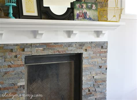 Pretty Tile Fireplace Surround On Building Our Fireplace