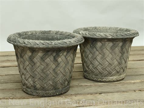 Weathered Cast Planters by Weathered Cast Planter New Garden Ornaments