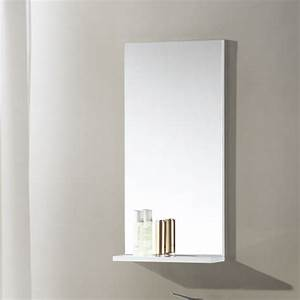 400x800mm modern bathroom mirror with shelf rectangular With bathroom mirror with shelf attached