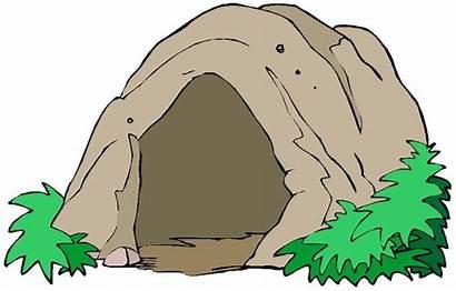 Cave Cartoon Bear Entrance Drawings
