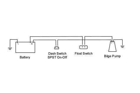 johnson bilge pump wiring diagram with float switch
