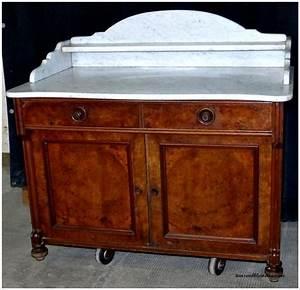 Waschtisch Kommode Mit Marmorplatte : louis philippe gr nderzeit nussbaum kommode anrichte mit marmorplatte um 1860 ebay ~ Markanthonyermac.com Haus und Dekorationen