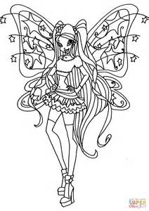 Winx Kleurplaten by Believix Stella Coloring Page Free Printable Coloring Pages