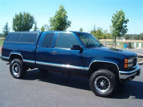 small engine repair training 1995 gmc suburban 2500 electronic throttle control sell used 1995 gmc extended cab sle 4x4 original paint rust free only 112k miles in auburn