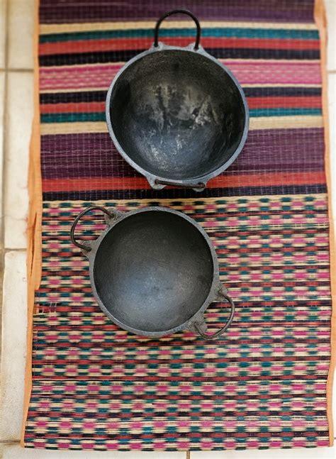 cast iron kadai  handle