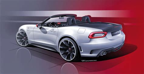 2016 mazda 2 r at fiat 124 spider genesis of an open top auto design