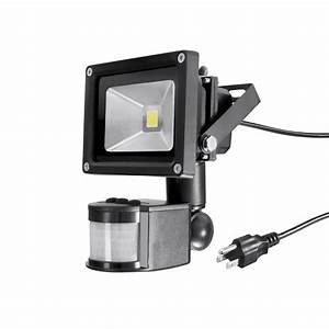 Electric Led Waterproof Security Spot Lights With Pir