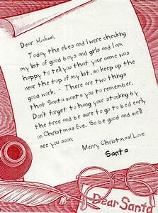 letter from santa holidays gifts such pinterest With letter from santa with gift