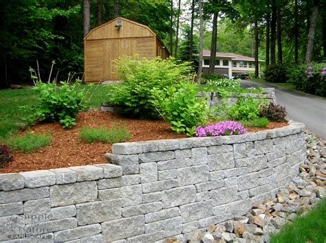 landscape walls custom stone walls simple by nature landscape