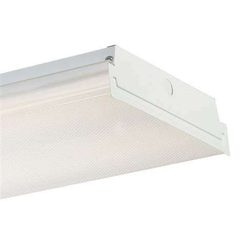 envirolite  ft white led wraparound extra bright ceiling