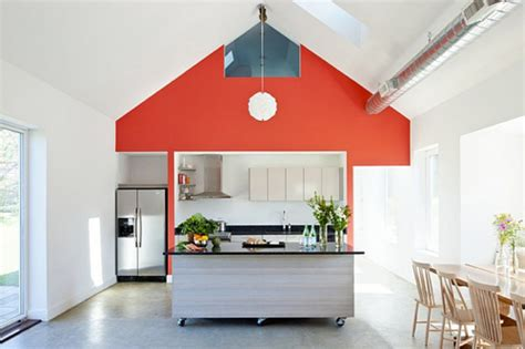 Interior Inspiration 12 Kitchens With Color  Design Milk. Kitchen Curtains Above Sink. Industrial Kitchen Steamer. Kitchen Sink Basket. Kitchen Garden Kerala. Colour Paint For Kitchen. Kitchen Shelves With Led Lights. Kitchen Counter Manila Mason Jars. Kitchen Paint Dark Cabinets