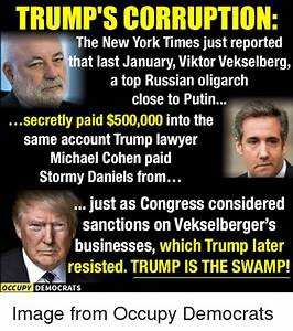 TRUMP'S CORRUPTION the New York Times Just Reported That ...