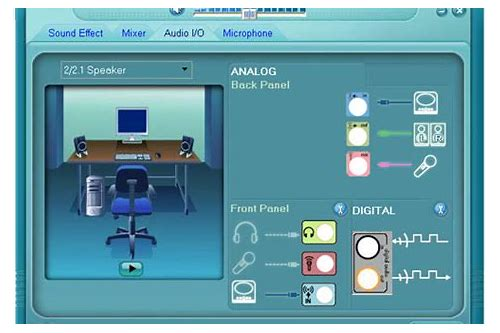 5.1 channel sound card driver download